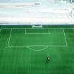 , BRESCIA, il campo da calcio di Calcinato