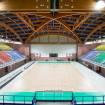 Realizzazione di una pavimentazione sportiva in legno, MANTOVA, Palabam