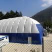 Realizzazione copertura reticolare geodetica per palestra, BRESCIA, Villa Carcina